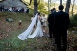 Vows behind the Barn Walls Wedding October 2012