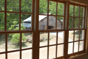 Barn through Windows