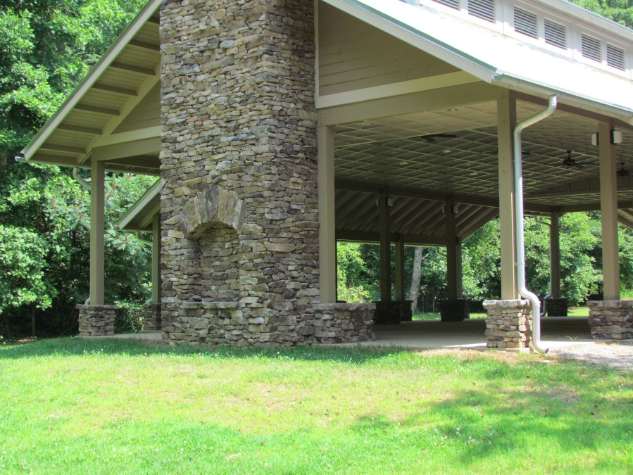 Pavilion - bridge side