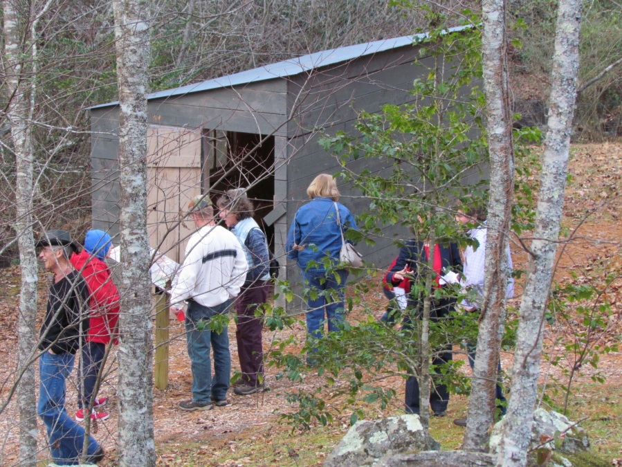 39 Exploring the outbuildings and learning about rural life